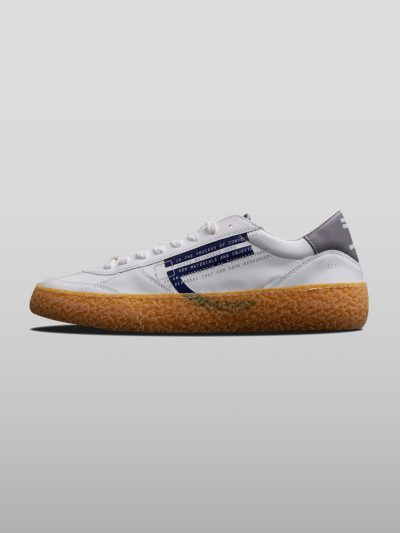 Blue Vegan Ecofriendly Sneakers Cruelty-free shoes made with recycled and organic materials.Made in Italy handcrafted by expert artisans.