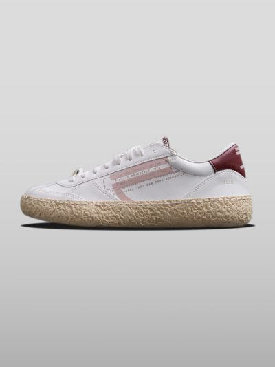 Pink Vegan Ecofriendly Sneakers Cruelty-free shoes made with recycled and organic materials.Made in Italy handcrafted by expert artisans.