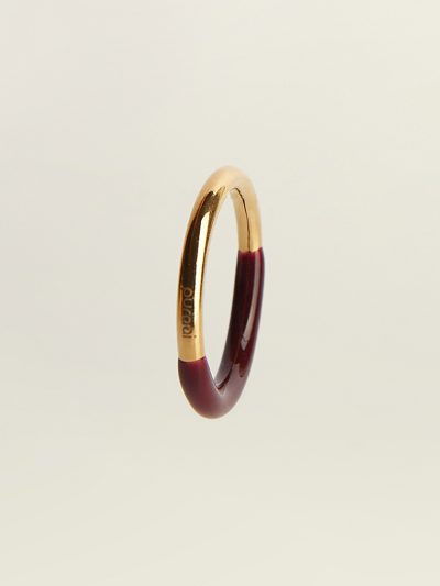 Puraai 925 silver double dipped in 18K gold plating rings 100% made in the golden district of Italy.